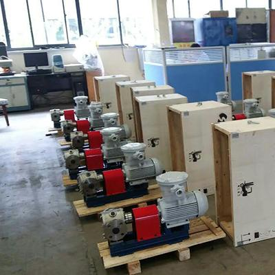 YCB-G保温圆弧齿轮泵