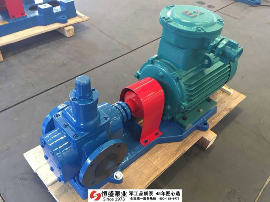 LC罗茨稠油泵的结构特点
