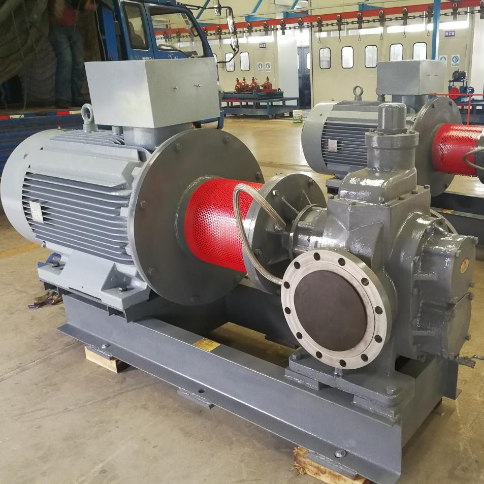 YCB磁力驱动圆弧齿轮泵