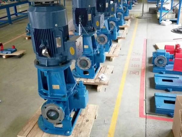 立式圆弧齿轮泵