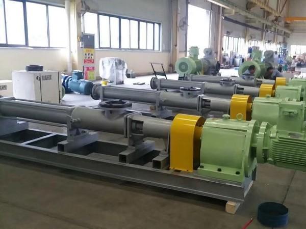 污水螺杆泵G单螺杆泵在输送污水时的合理使用