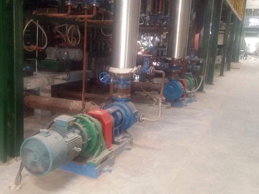 高粘度齿轮泵安装高度的核算