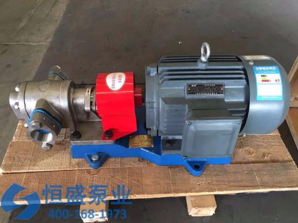 泊头不锈钢齿轮泵 (33126)