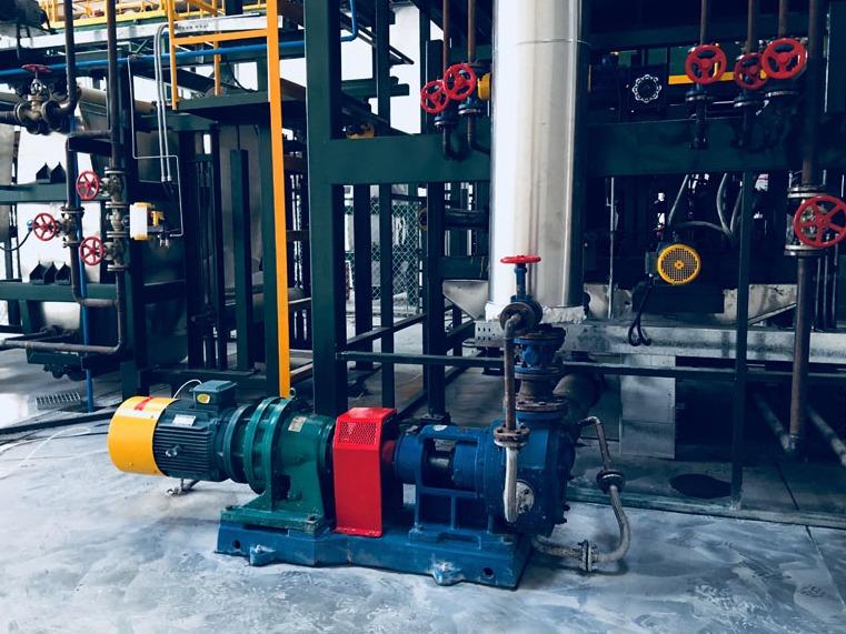 高粘度泵密封漏油的原因及解决方法