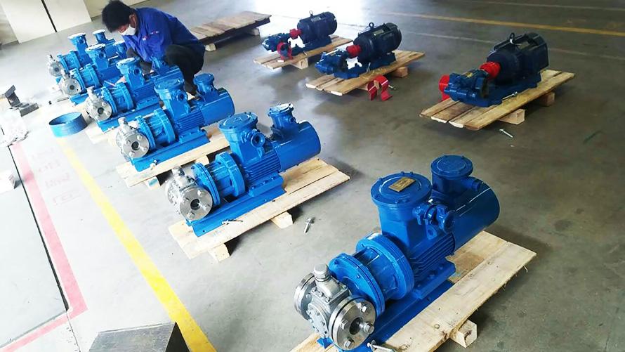 YCB磁力驱动齿轮泵