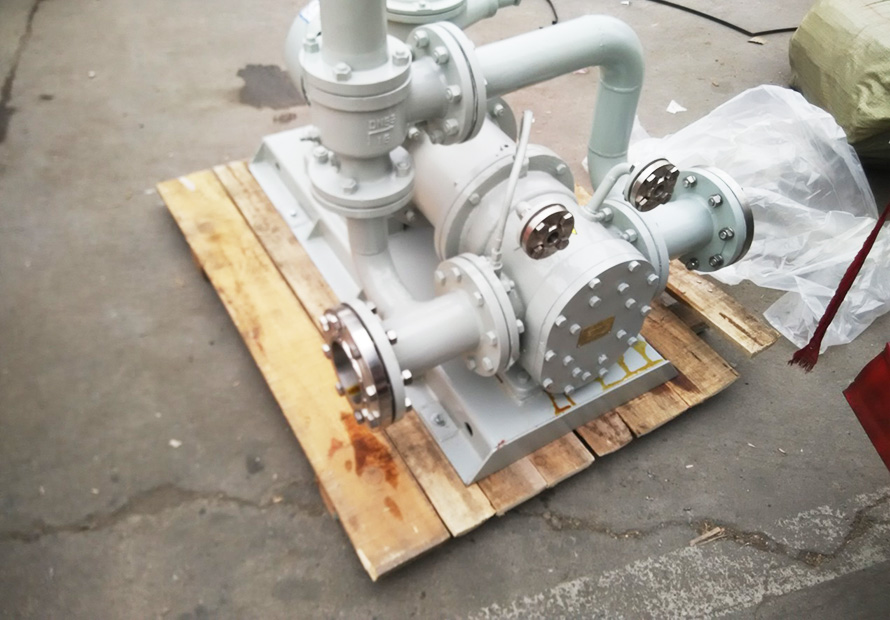 磁力驱动圆弧齿轮泵