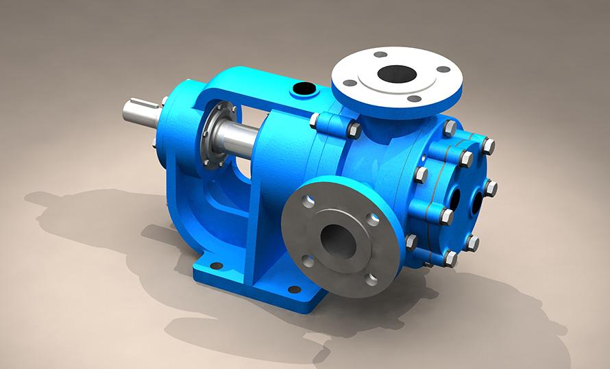 NYP磁力驱动高粘度齿轮泵