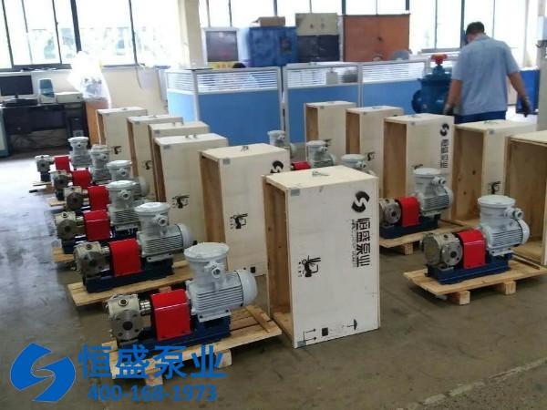 保温齿轮油泵