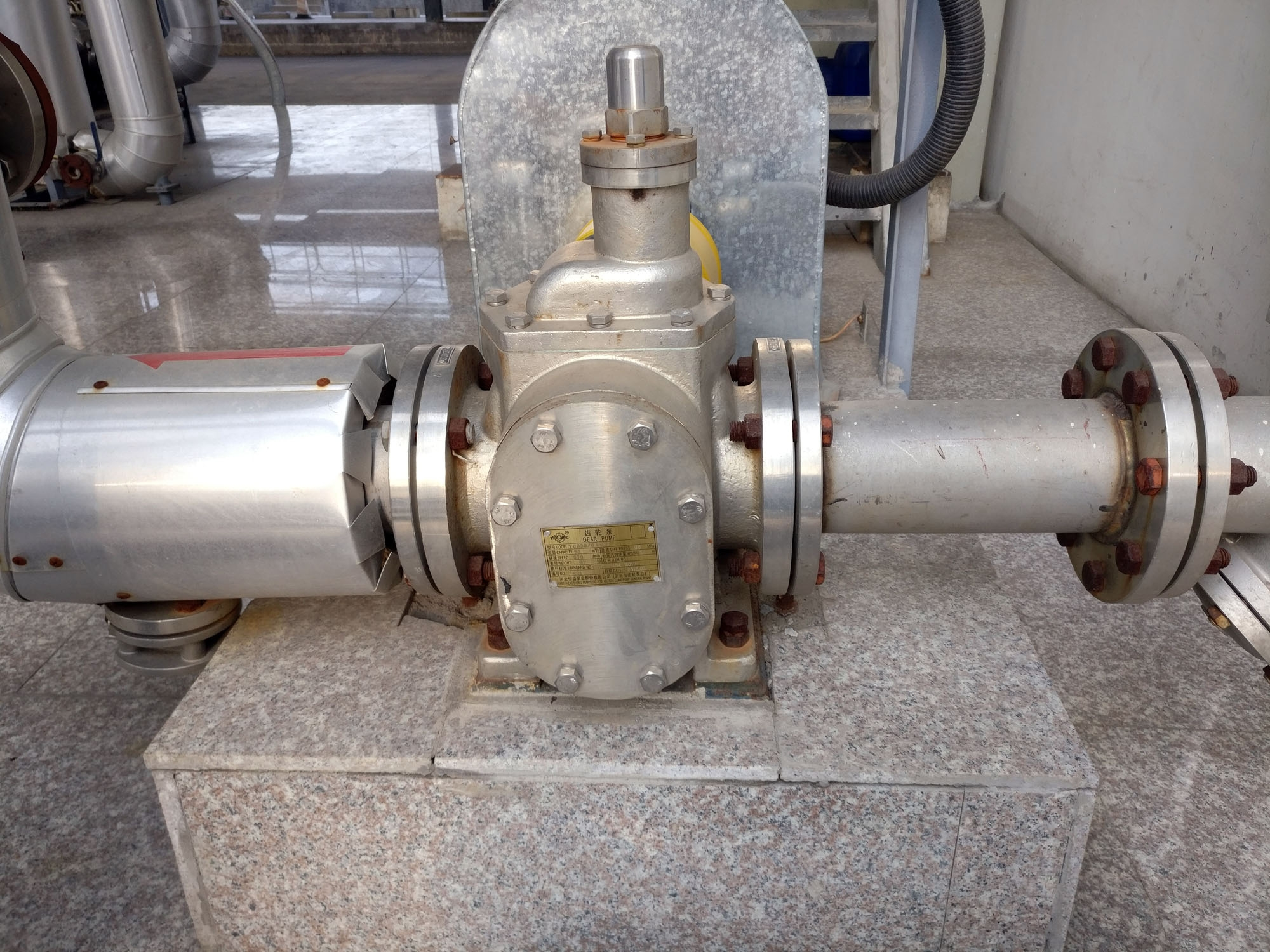 不锈钢圆弧齿轮泵