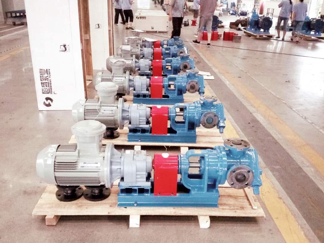 恒盛泵业教大家如何为高粘度泵配套合适的安全阀