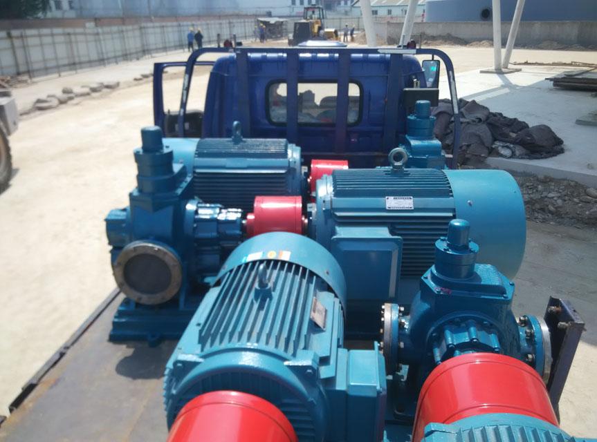 大流量齿轮油泵