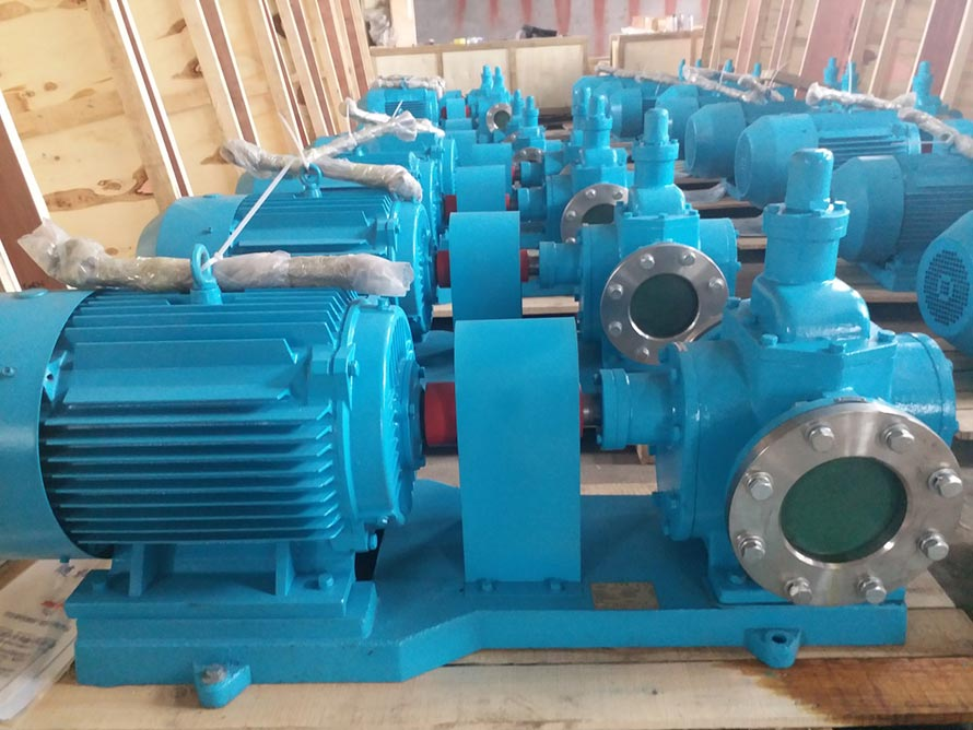 YCB不锈钢圆弧齿轮油泵