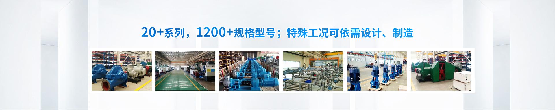 20+xi列,1200+规格型号;特殊工况可依xu设ji、zhi造