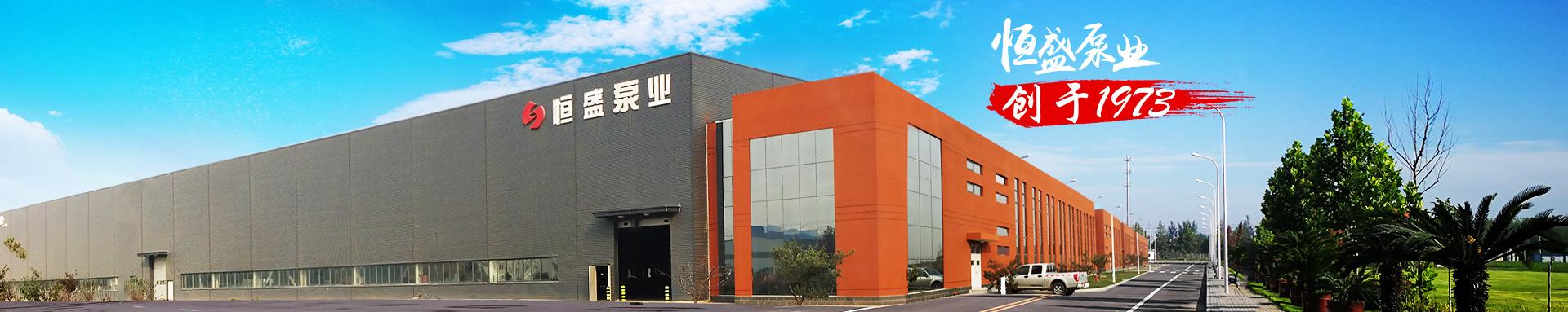 恒盛泵业,创于1973