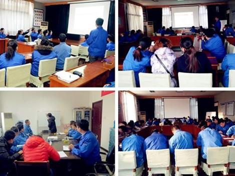 为了提高员工的素质由恒盛泵业工会组织的各项培训工作已陆续展开。