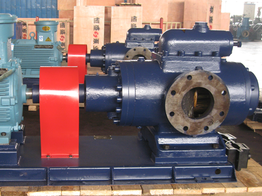 三螺杆保温沥青泵