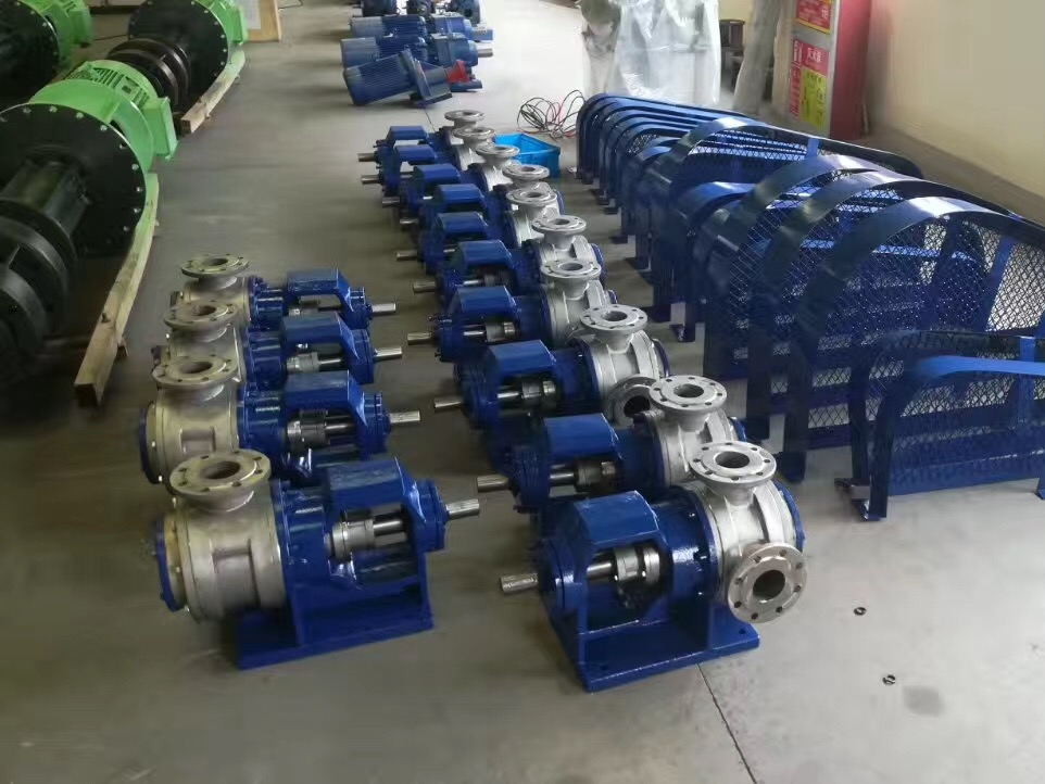 不锈钢高粘度齿轮泵