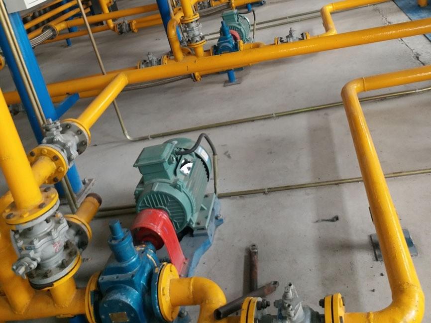 圆弧齿轮油泵YCB圆弧齿轮泵流量扬程性能曲线详细说明
