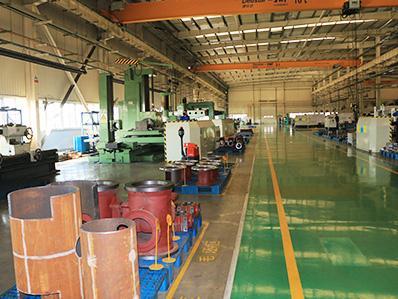 恒盛泵业生产车间局部