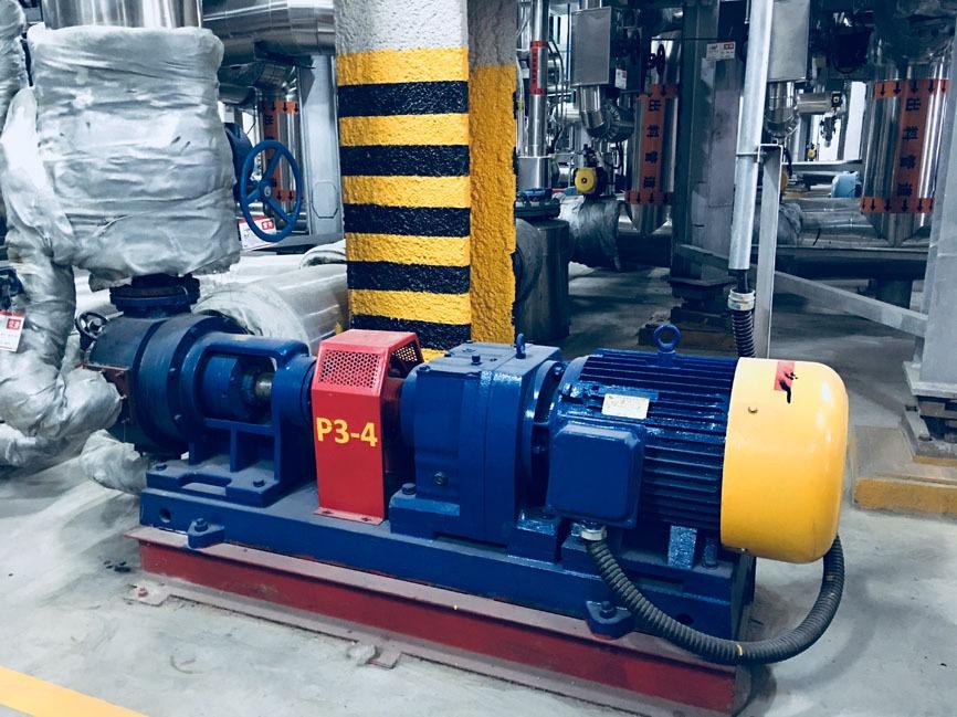 恒盛泵业保温沥青泵安装时的一些注意事项