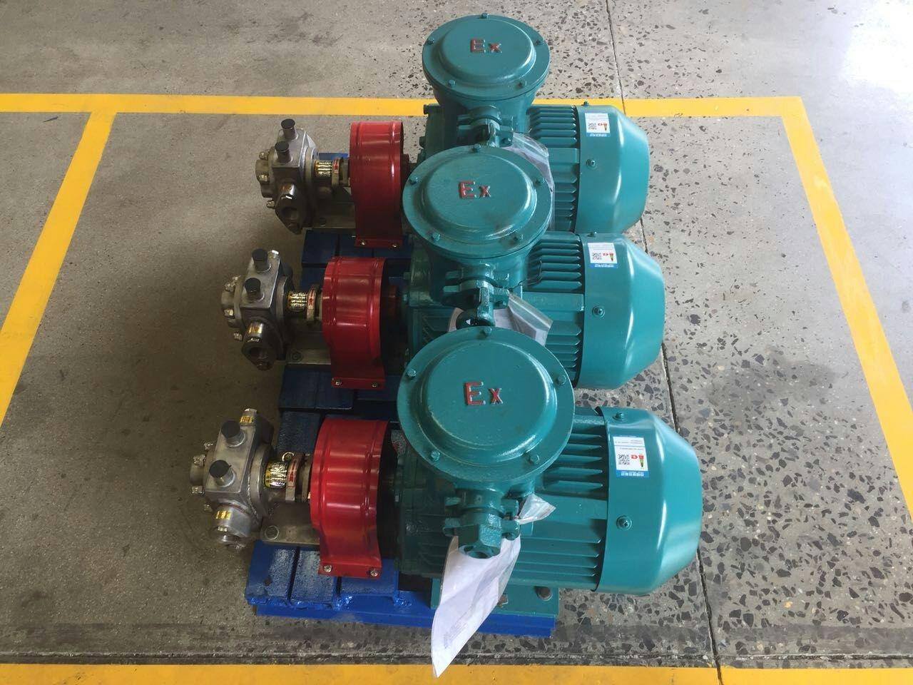 不锈钢齿轮泵能应用于防冻液制作工艺中吗?