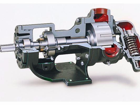 沥青保温不锈钢齿轮泵
