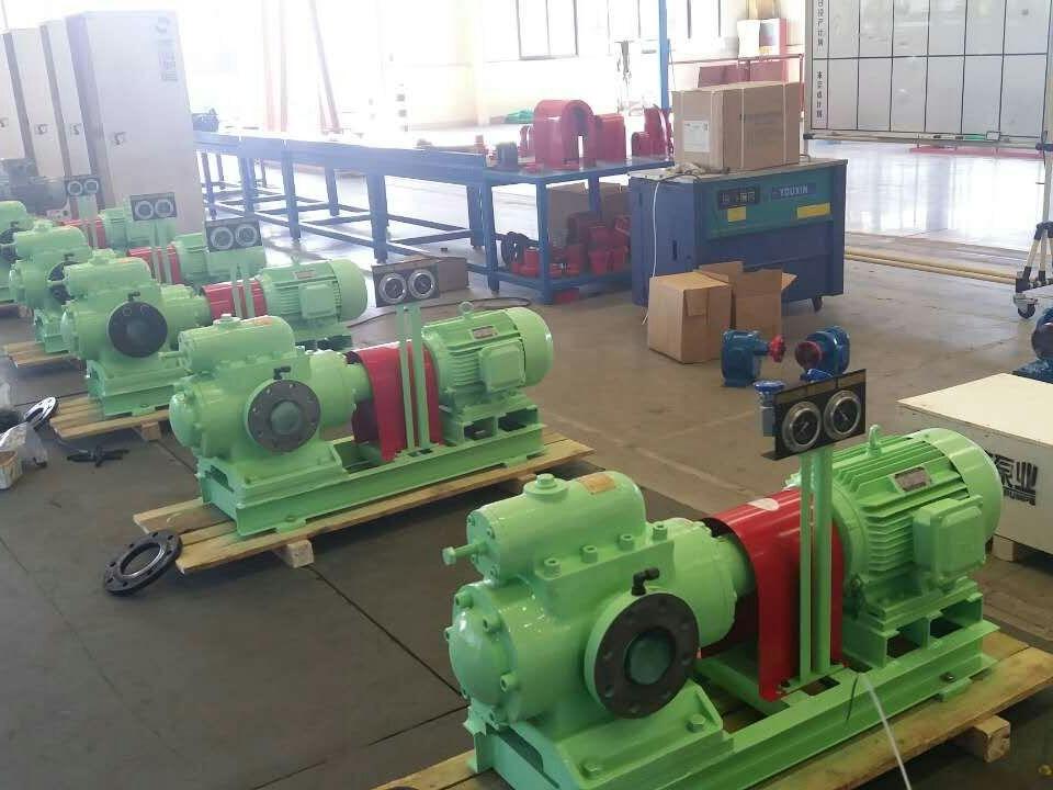 三螺杆泵工作原理及性能特点